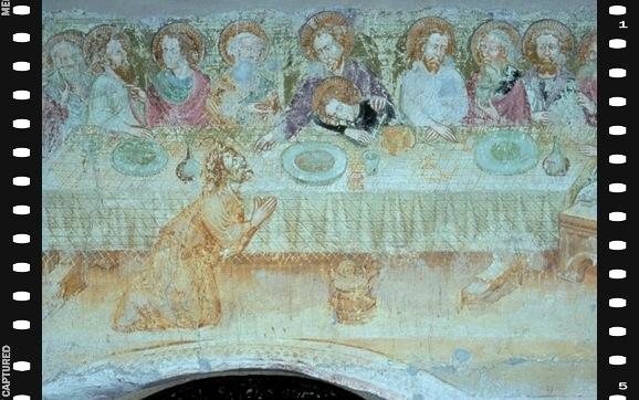 Fresque (1420-1430). Termeno-sulla-Strada-del-Vino: église San Valentino