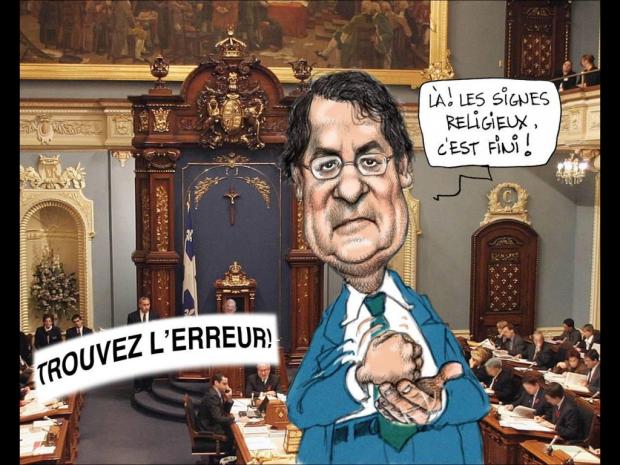 Chapleau dans La Presse
