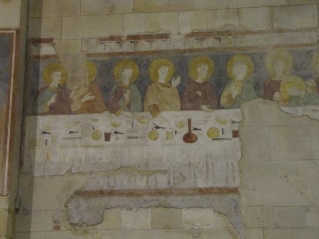 Anonyme (1300-1324). Vérone (Vénétie, Italie); basilique San Zeno (détail d'une fresque)