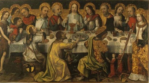 Godefroy (1482). Chambéry (Rhône-Alpes, France); musée des Beaux-Arts (Huile sur bois 123x220,6 cm)