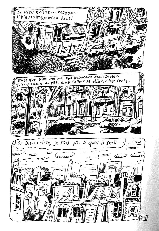 Sfar, J. (2015). Si Dieu existe: les carnets de Joann Sfar. Paris: Delcourt. p.212