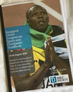 Affiche du Inaugural Global Congress on Sports and Religion