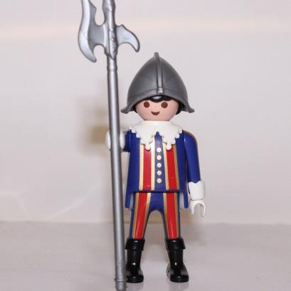 Un garde suisse